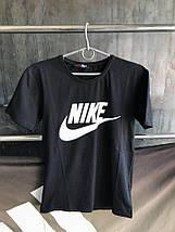 Мужская футболка Nike.Черная , фото 3