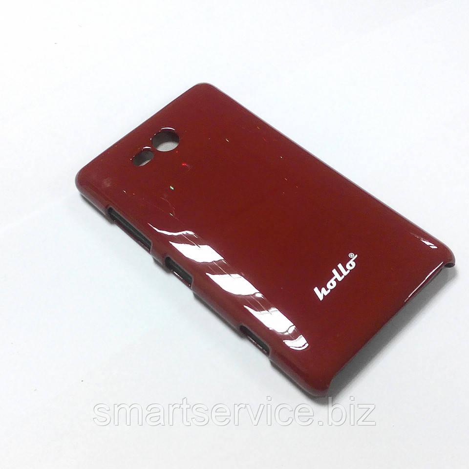 Пластиковый чехол Hollo для Nokia Lumia 820