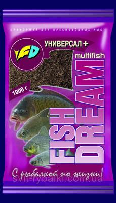 "Прикормка Fish Dream "" Универсал+ "" Мультифиш"