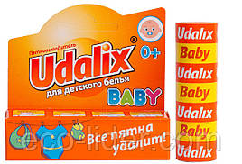 Карандаш пятновыводитель Udalix Baby удаликс для детского белья