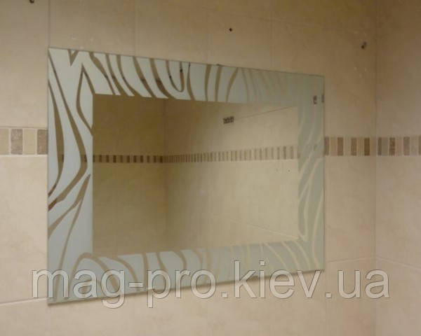 Зеркало для ванной ZEBRA 60x80