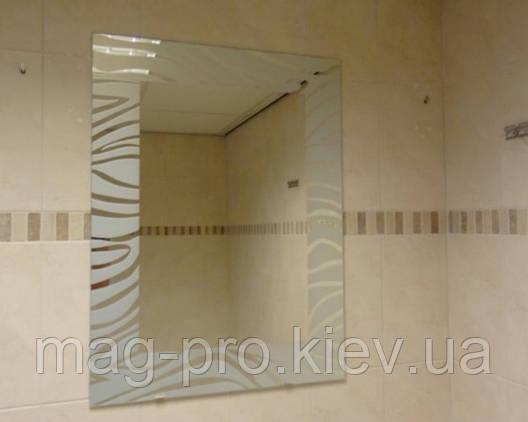 Зеркало для ванной ZEBRA 60x80, фото 2