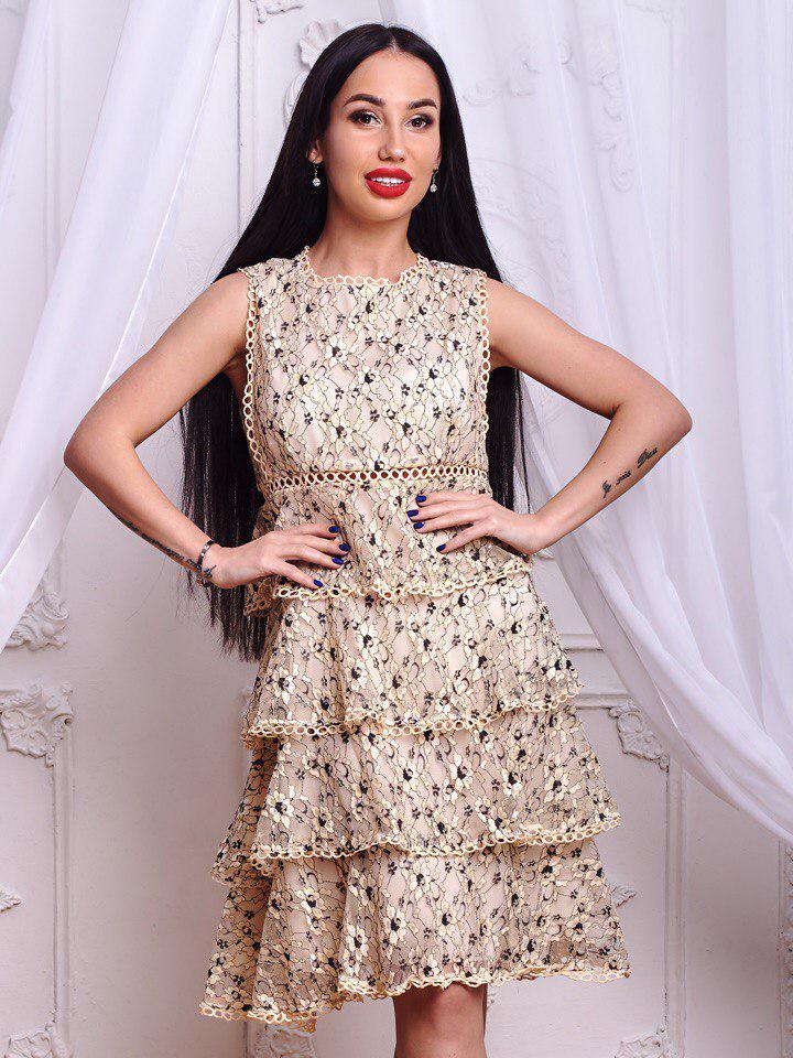 Платье .(624)