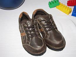 Туфли кожаные OshKosh оригинал размер 24 коричневые 08003/01