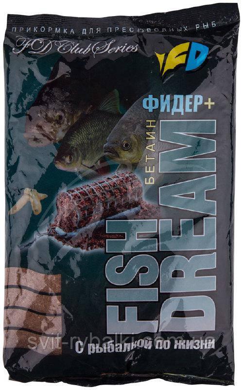 Прикормка Fish Dream Club Фидер+ 0.8кг