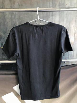Мужская футболка Adidas.Черная, фото 2