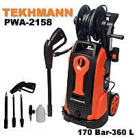 Мойка высокого давления «Tekhmann» PWA-2158  turbo (170 Бар)