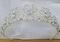 Дорогие восточные короны тикка в кристаллах и камнях 184