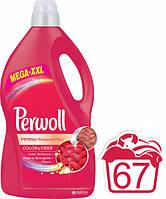 Жидкое средство для деликатной стирки Perwoll Восстановление + цвет 4 л