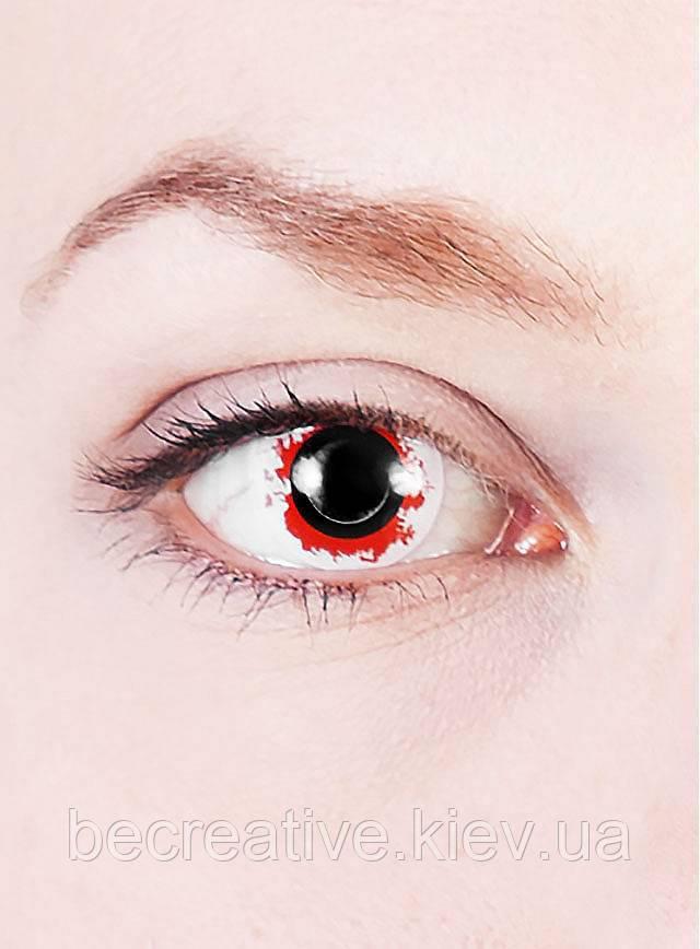 Кровавые контактные декоративные линзы