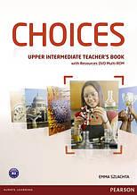 Choices Upper-Intermediate Teacher's Book+DVD Multi-Rom