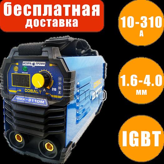 Сварочный инвертор Искра Профи Cobalt MMA 311 DM, 10-310 А, 1.6-4 мм, сварочный аппарат, инверторная сварка