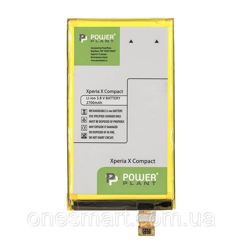 Аккумулятор PowerPlant Sony Xperia X Compact (LIS1634ERPC) 2700mAh - OneSmart в Запорожье