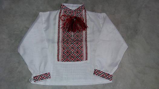 Сорочка для немовляти вишита хрестиком 9f3df453829cc