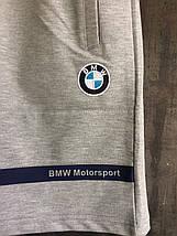 Шорты Puma ( BMW ) мужские серые, фото 3