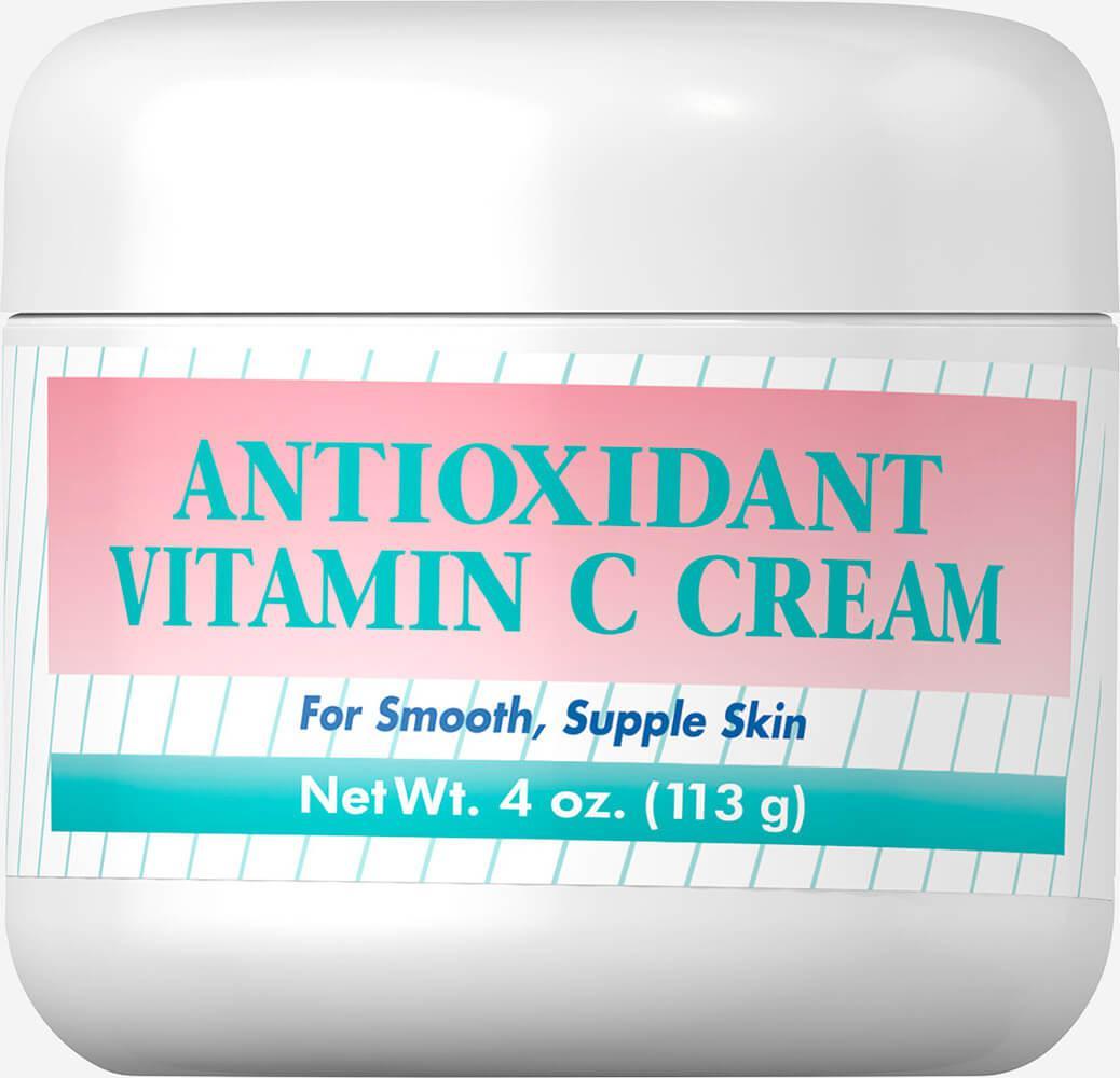 Крем Антиоксидант с вит.С, Antioxidant Vitamin C Cream, Puritan's Pride, 118 мл