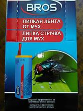 Липка стрічка від мух «Брос» (Bros) Польща