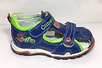 Босоножки сандалии летние на мальчика Clibee Кожа размеры 27-29