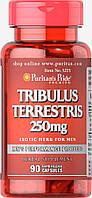 Трибулус Террестрис, Tribulus Terrestris 250 mg, Puritan's Pride, 90 капсул