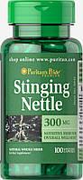 Крапива, Stinging Nettle 300 mg, Puritan's Pride, 100 капсул
