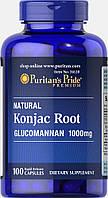 Глюкоманн, Konjac Root Glucomannan 1000 mg, Puritan's Pride, 100 капсул