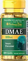 ДМАЭ, DMAE 100 mg, Puritan's Pride, 100 капсул