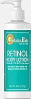 Лосьон для тела Ретинол, Retinol Body Lotion (Vitamin A 100,000 IU Per Ounce), Puritan's Pride, 118 мл