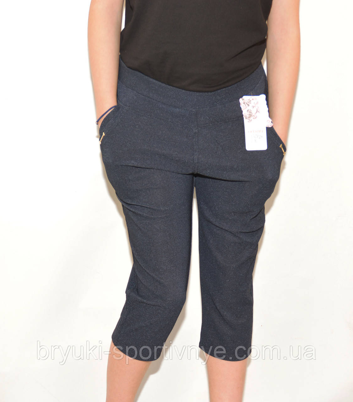 Бриджи женские большие размеры - Узор