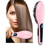 Уникальная расческа для выпрямления волос Fast Hair Straightener HQT-906