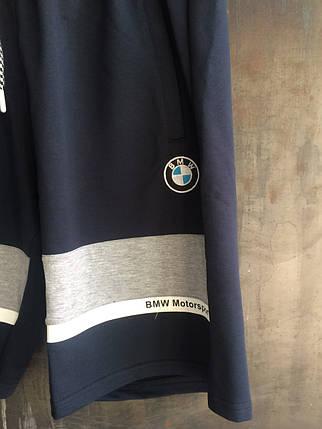 Шорты Puma ( BMW ) мужские синие, фото 2