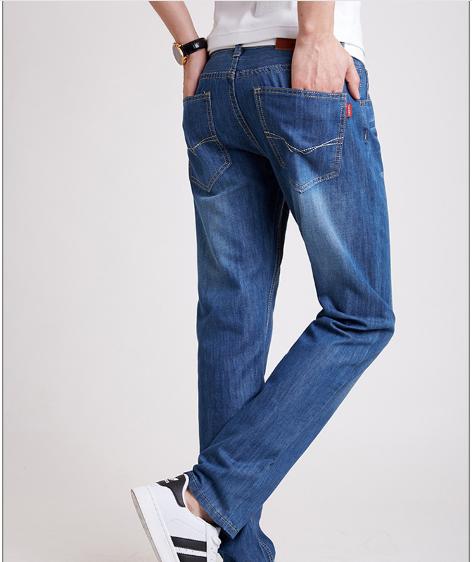 Джинси чоловічі сині стрейчева тканина розміри 30, 31 код 30