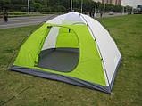Палатка туристическая четырехместная Green Camp 1018, фото 6