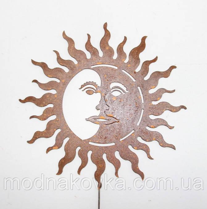 Декор для сада Солнце-Луна