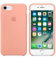 Силиконовый чехол Apple Silicone Case IPHONE 6/6s (Begonya red), фото 1