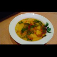 Суп овощной со звездочками
