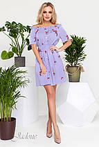 Женское летнее платье с открытыми плечами (Рикки jd), фото 3