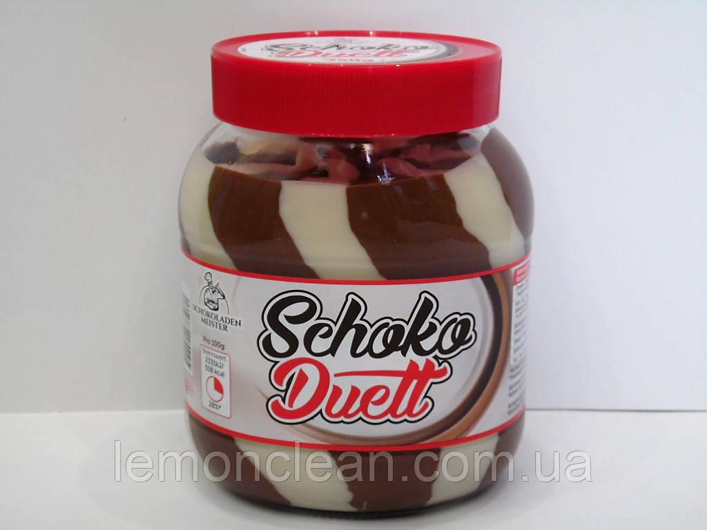 Шоколадно - ореховая паста Schoko Duett 750г