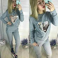 "Женский костюм со штанами ""Сердце"", фото 1"
