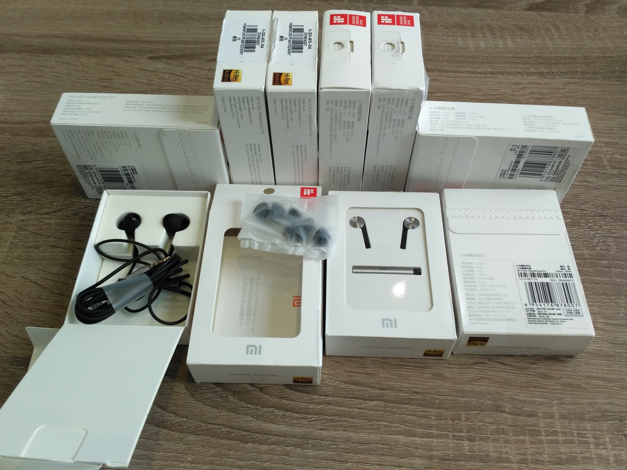 Наушники Xiaomi Mi In-Ear Headphones Pro QTER01JY