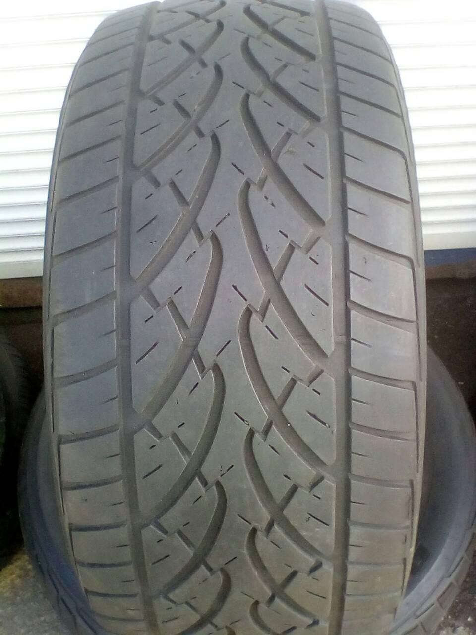 Шины б\у, летние: 285/50R18 Bridgestone Dueler HP