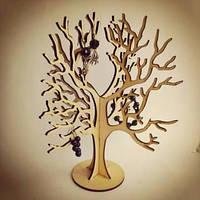 Дерев'яне Дерево для прикрас (ручна робота)