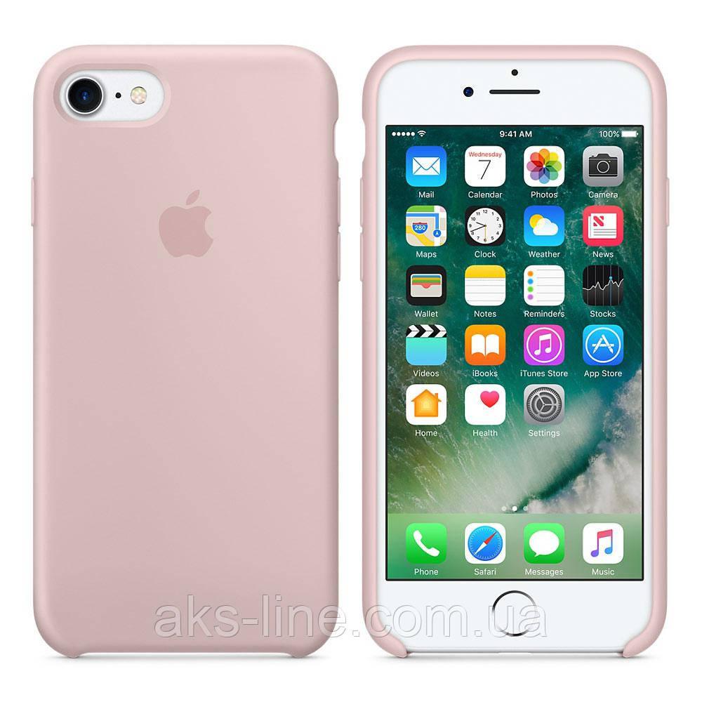 Силиконовый чехол Apple Silicone Case IPHONE 6Plus/6S plus (Pink Sand), фото 1