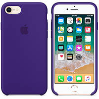 Силиконовый чехол Apple Silicone Case IPHONE 6Plus/6S plus (Purple ), фото 1