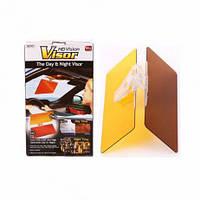 Солнцезащитный антибликовый козырек (Антифары) Vision Visor HD для автомобиля