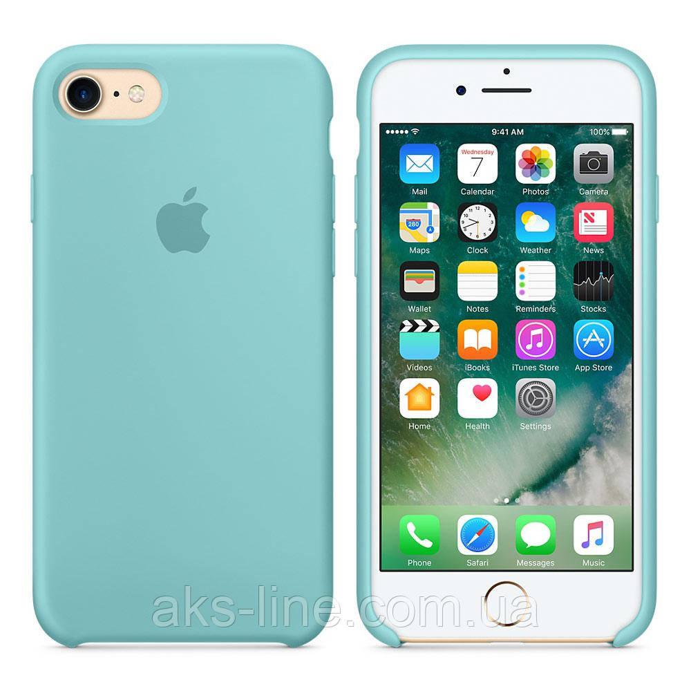 Силиконовый чехол Apple Silicone Case IPHONE 6Plus/6S plus (Turquoise), фото 1