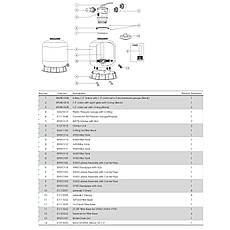 Фильтр Emaux V700В (20.2 м3/ч, D723), для бассейна объёмом до 81 м3, фото 2