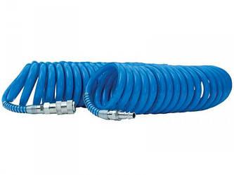 Шланг спиральный для компрессора Intertool PT-1711 6,5х10мм 10 метров