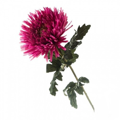 Искусственная розовая хризантема.
