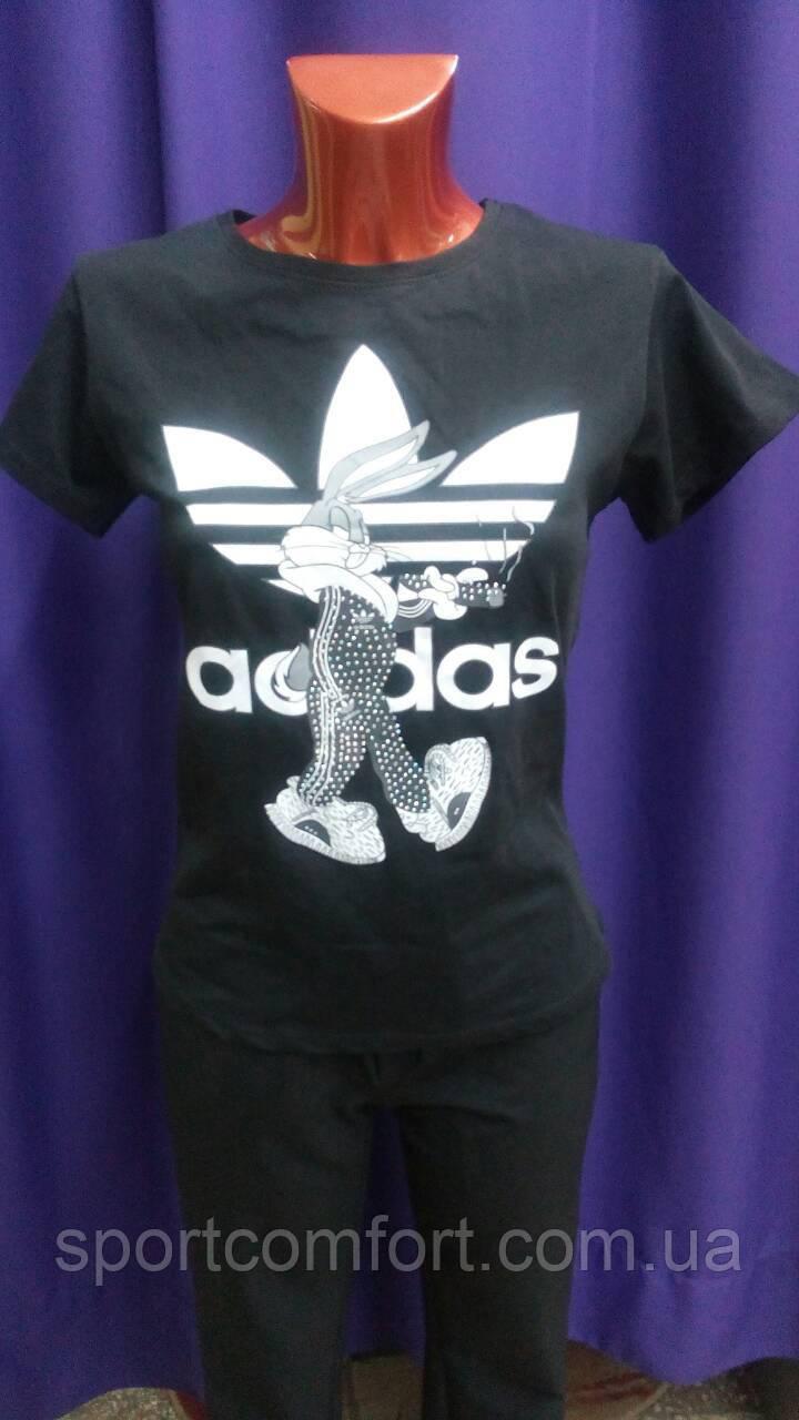 Футболка Adidas черная