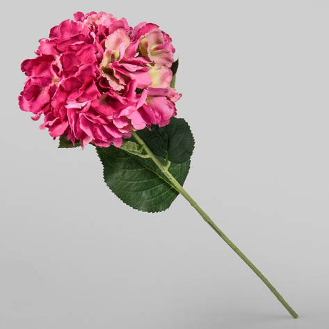 Искусственный цветок красная гортензия., фото 2